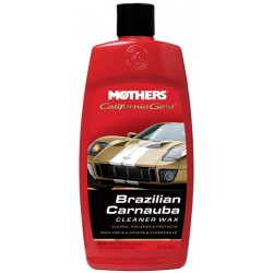 MOTHERS CALIFORNIA GOLD BRAZILIAN CARNAUBA CLEANER WAX 16 OZ