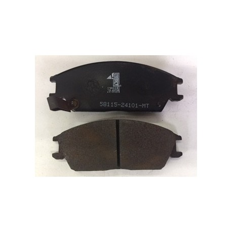HYUNDAI ACCENT DISC PADS