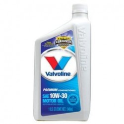 VALVOLINE PREMIUM PROTECTION 10W-30 ENGINE OIL QT