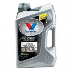 VALVOLINE FULLY SYNTHETIC 0W-20 ADVANCE ENGINE OIL GALLON 5L