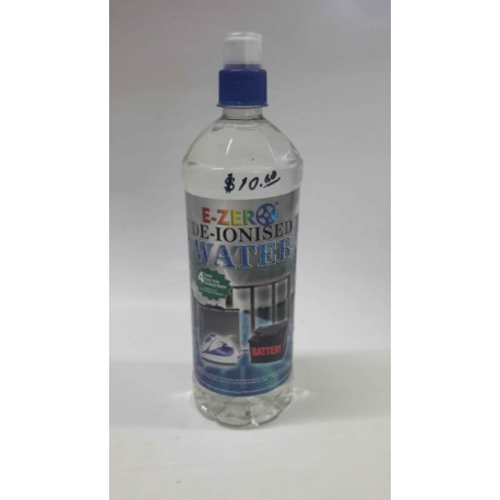 E-ZER DE-IONISED WATER 1L