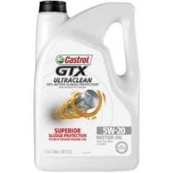 CASTROL GTX ULTRA CLEAN 5W20 MOTOR OIL