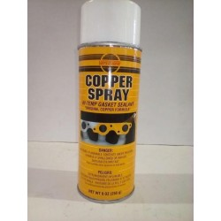 VERSACHEM COPPER SPRAY HI-TEMP GASKET SEALANT 9 OZ