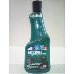 ABRO GREEN CAR POLISH 16 OZ.