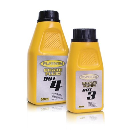 PLATINUM DOT 3 BRAKES FLUID 250ML