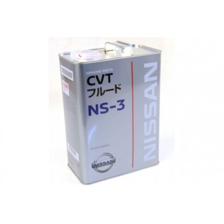 NISSAN NS-3 CVT CONTIUOUSLY VARIABLE TRANSMISSION FLUID GALLON
