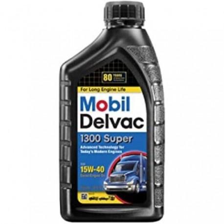 MOBIL 15W-40 DELVAC DIESEL OIL QT