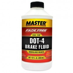 MASTER FADE FREE DOT 4 HIGH-TEMP BRAKE FLUID