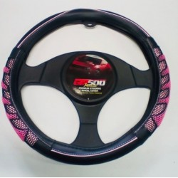 STEERING WHEEL COVERS BLK PK
