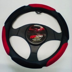 STEERING WHEEL COVERS RED