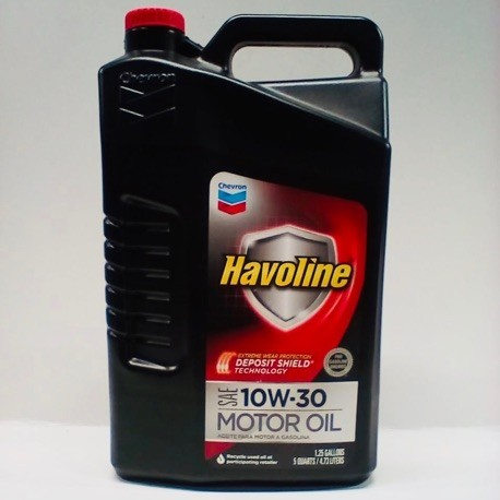 HAVOLINE DEPOSIT SHEILD 10W30 ENGINE OIL GALLON 5L