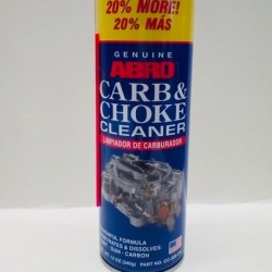 ABRO CARB & CHOKE CLEANER 12 OZ.