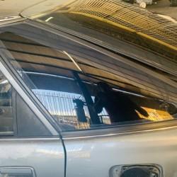 COROLLA AE90 LIFT BACK REAR FENDER GLASS LH