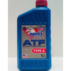 ABRO ATF TYPE A TRANSMISSION FLUID QUART