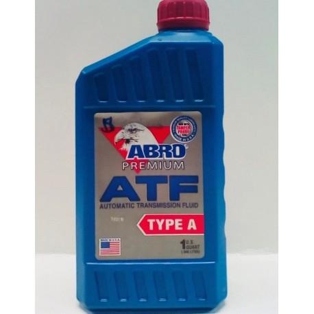 ABRO ATF TYPE A TRANSMISSION FLUID QUART
