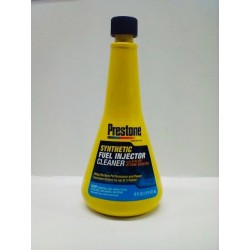 PRESTONE SYNTHETIC FUEL INJECTOR CLEANER WITH 0-60 OCTANE BOOSTER 16 OZ
