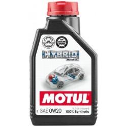 MOTUL HYBRID 0W-20 100% SYNTHETIC ENGINE OIL 1L
