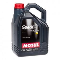 MOTUL SPECIFIC 5W-30 100% SYNTHETIC ENGINE OIL 5L