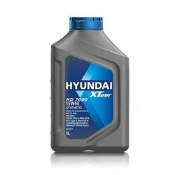 HYUNDAI XTEER 15W-40 SYNTHETIC ENGINE OIL 1L