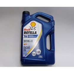 SHELL ROTELLA T6 5W-40 HD DIESEL ENGINE OIL GALLON