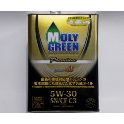 MOLYGREEN 5W-30 CF BLACK APLHA PREMIUM ENGINE OIL 4L
