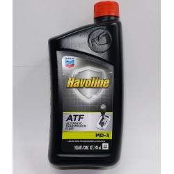HAVOLINE TRANSMISSION FLUID CHEVRON ATF MD-3