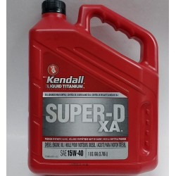 KENDALL SUPER D3 15W40 (EXTENDED PROTECT) DIESEL ENGINE OIL GALLON