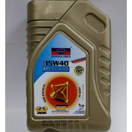 DANA 15W-40 ENGINE OIL QT