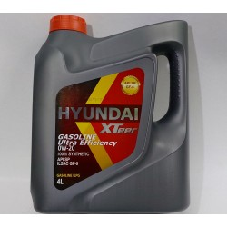 HYUNDAI X-TEER 0W-20 SYNTHETIC ENGINE OIL 4L