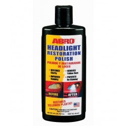 ABRO HEADLIGHT RESTORATION POLISH 8 OZ.