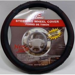 STEERING WHEEL COVER RED LINE