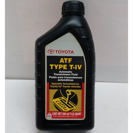 TOYOTA TYPE IV  TRANSMISSION FLUID QT