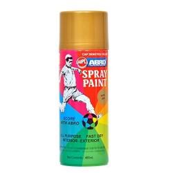 ABRO SPRAY PAINT GOLD 400 ML