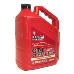 KENDALL 20W-50 GT-1 LIQUID TITANIUM ENGINE OIL GALLON