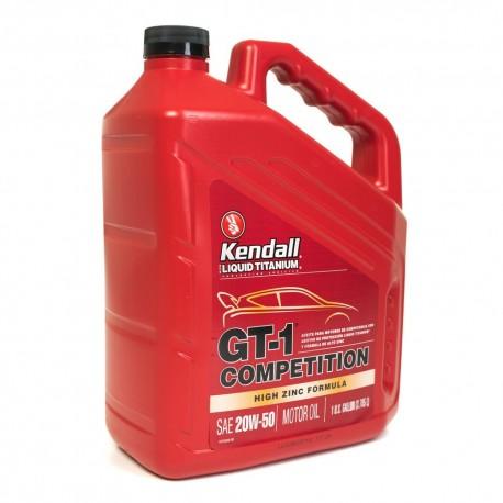 KENDALL GT-1 FULLY SYNTHETIC GTI MAX LIQUID TITANIUM 20W-50 ENGINE OIL GALLON