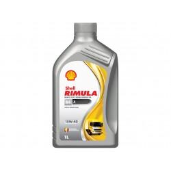 SHELL 15W-40 RIMULA RX4 HD DIESEL OIL 1QT