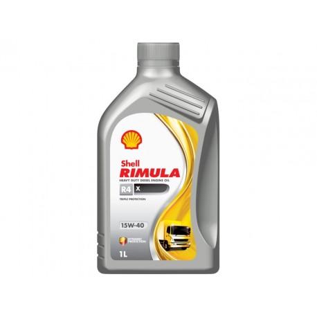 SHELL RIMULA R4 15W-40 GALLON QUARTS