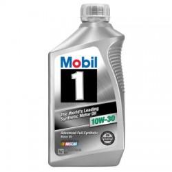 MOBIL 1 10W-30 ENGINE OIL QT