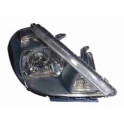 TIIDA HEADLAMP 2005 BLACK LH