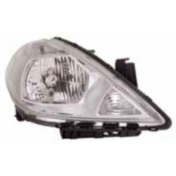 TIIDA HEADLAMP 2005 BLACK RH