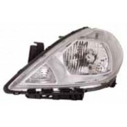 TIIDA HEADLAMP 2005 CLEAR RH
