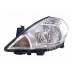 TIIDA HEADLAMP 2008-9 CLEAR LH