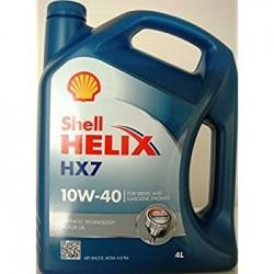 SHELL HELIX HX7 10W-30 ENGINE OIL GALLON
